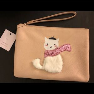 Cat themed wrist pouch LC Lauren Conrad